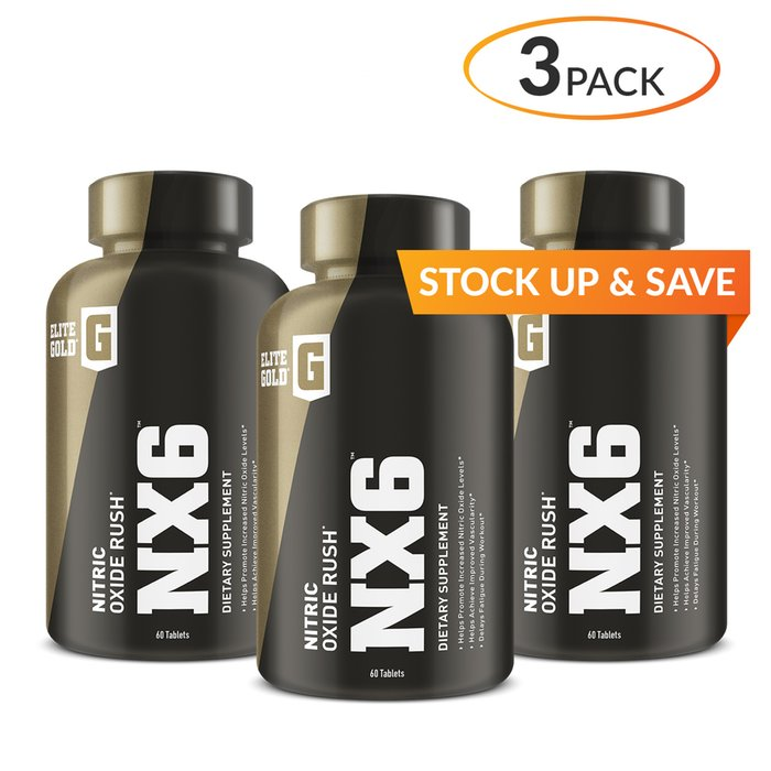 Elite Gold NX6 3 Pack