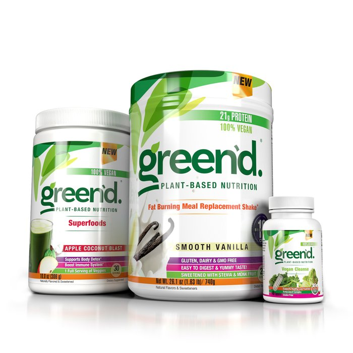 green'd. Plant Based Daily Health System