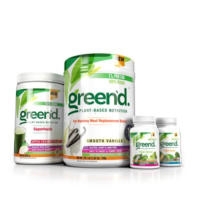 green'd. Plant Based Weight Loss System