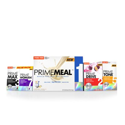 Prime Trim Complete 30 Day System + FREE Cleanse & Shaker Cup